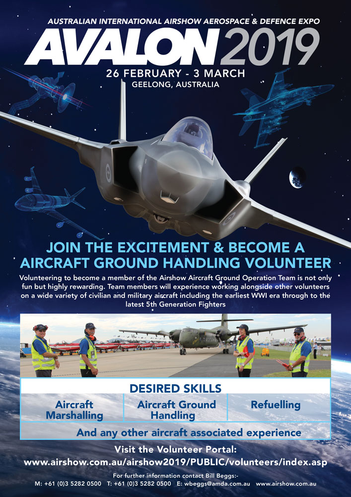 Call for Airside Ground Operations Staff at Avalon