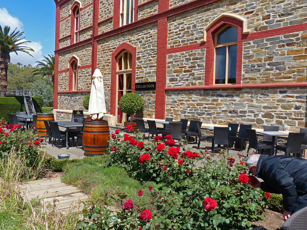 Chateau Tanunda winery.