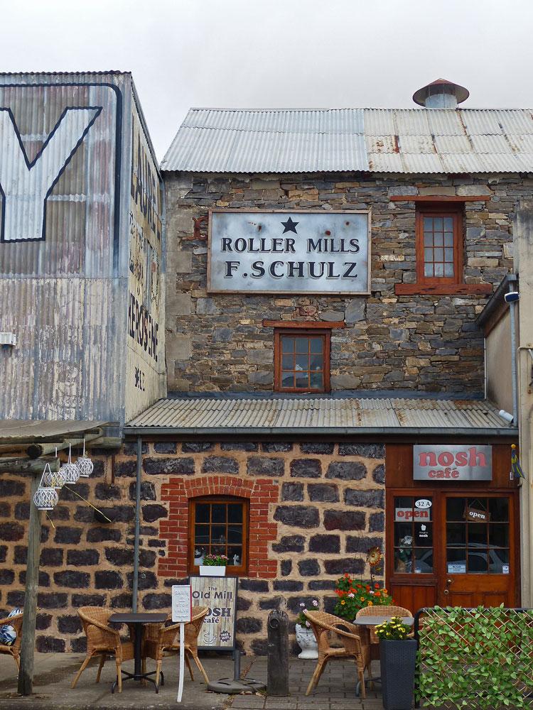 Cafe in Tanunda.