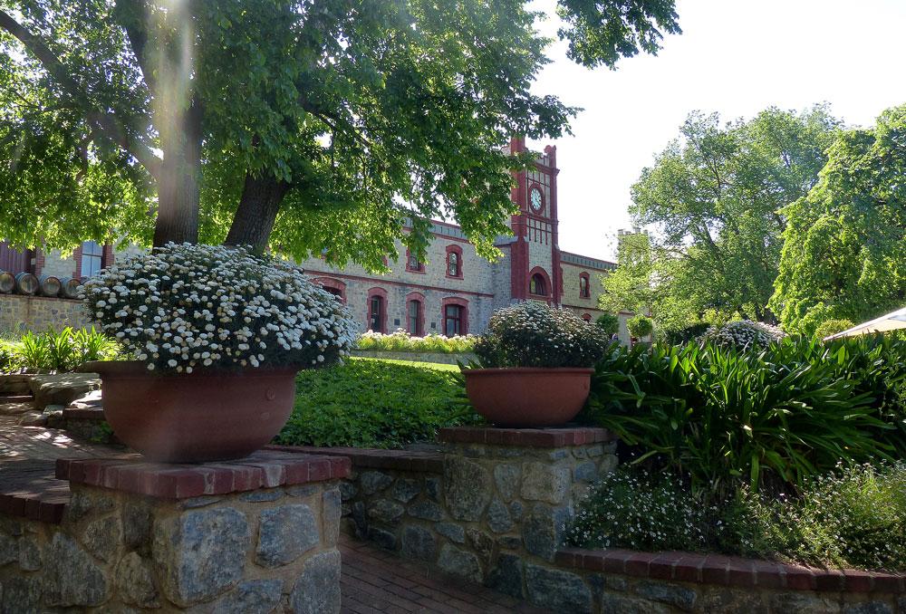 Chateau Yalumba winery.